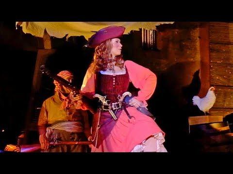 UPDATED: Redhead Scene at Pirates of the Caribbean, Walt Disney World 2018