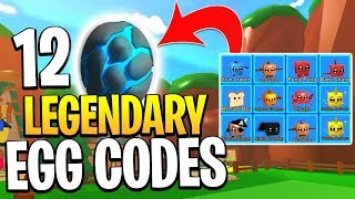 12 LEGENDARY EGG CODES IN ROBLOX MINING SIMULATOR!
