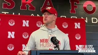 Nebraska Football: Scott Frost Addresses Nebraska's Loss to Wisconsin