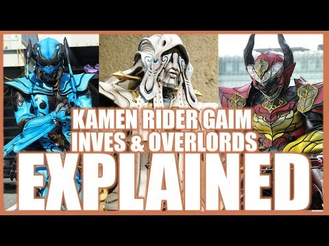 Kamen Rider Gaim Villains EXPLAINED