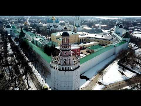 Церкви России с дрона в 4К (Сергиев Посад, Хотьково)