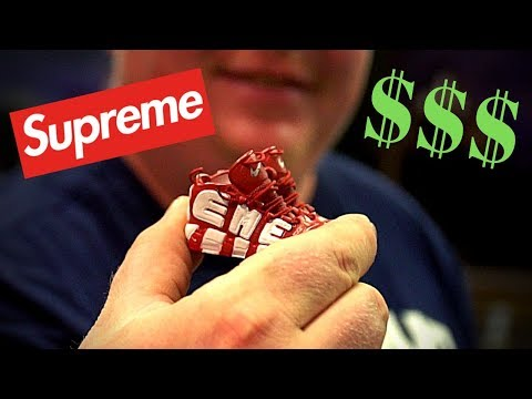 SUPREME Fingerboard Shoes!! (Good Vibes Vlog)