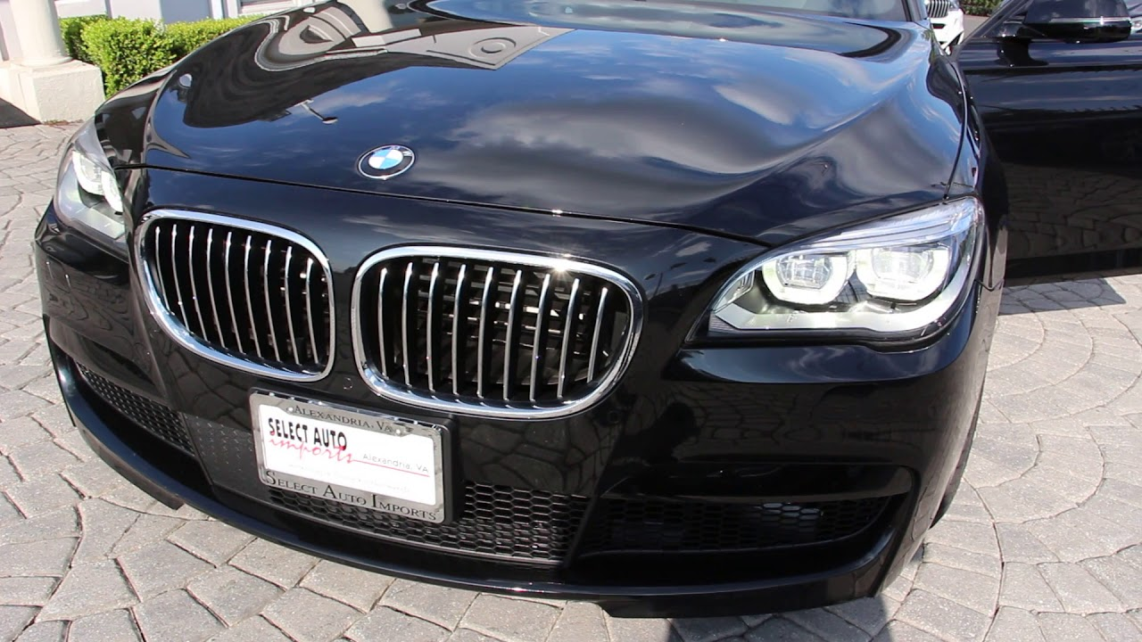 2015 Bmw 7 Series 750li Xdrive M Sport Edition Stock