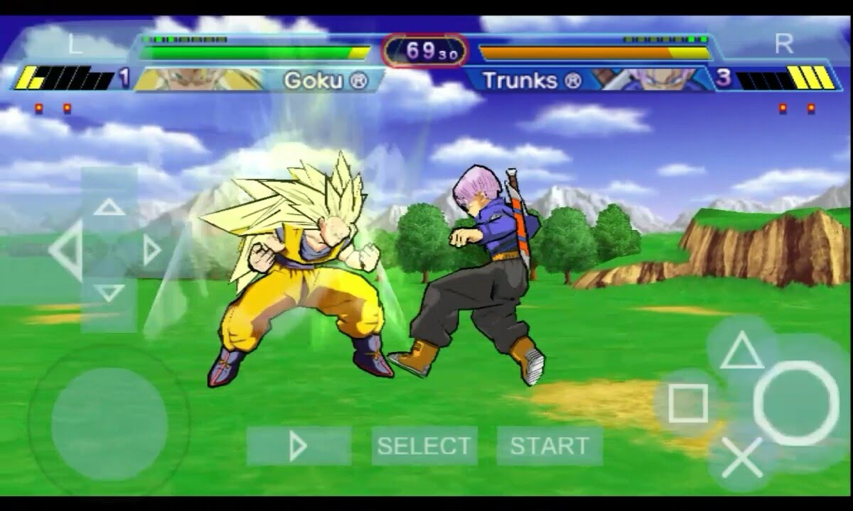 Play Dragon Ball Z Game On Android Using Ppsspp Youtube