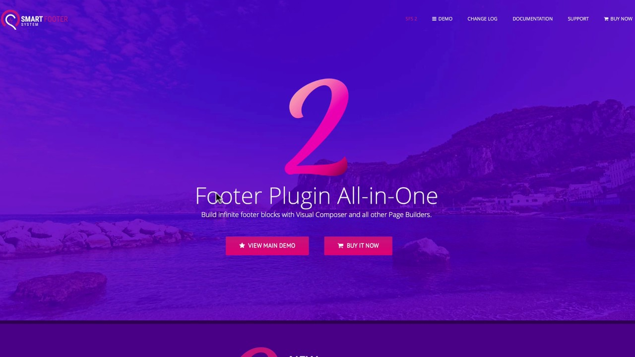 Smart Footer System Offers Feature-Rich Custom Footers