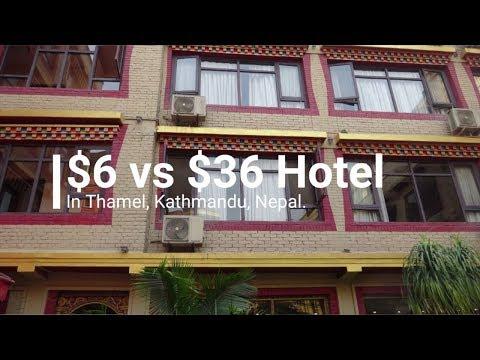 $6 Vs $36 Hotel ¦ Thamel, Kathmandu, Nepal