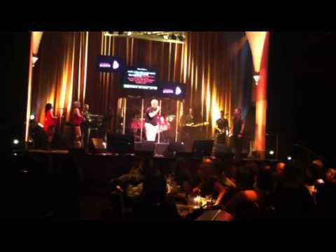 Tom singing sweet Caroline at karaoke bar in Orlando Florida 1/23/2013