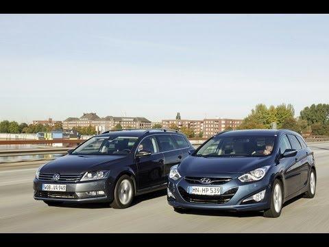 VW Passat vs. Hyundai i40 Gegenwind fr den Passat