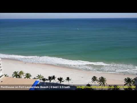 Fort Lauderdale Beach Penthouse, SOLD, info@CrincoliRealEstate.com
