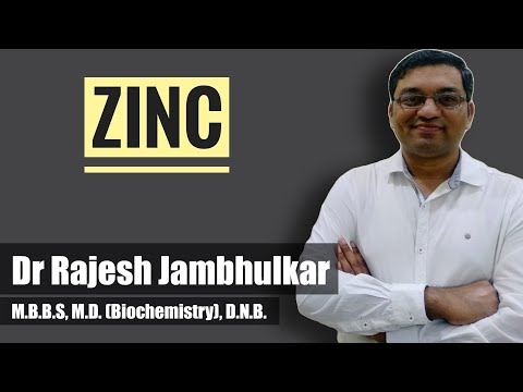 ZINC- Sources, RDA, Functions, Deficiency Manifestations, Toxicity