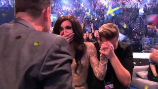 Repeat youtube video Headlines 10-05-2014 'Austria wins 2014 Eurovision Song Contest'