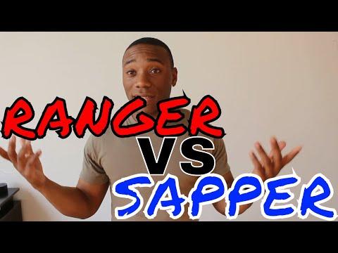 Why I want SAPPER VS RANGER School