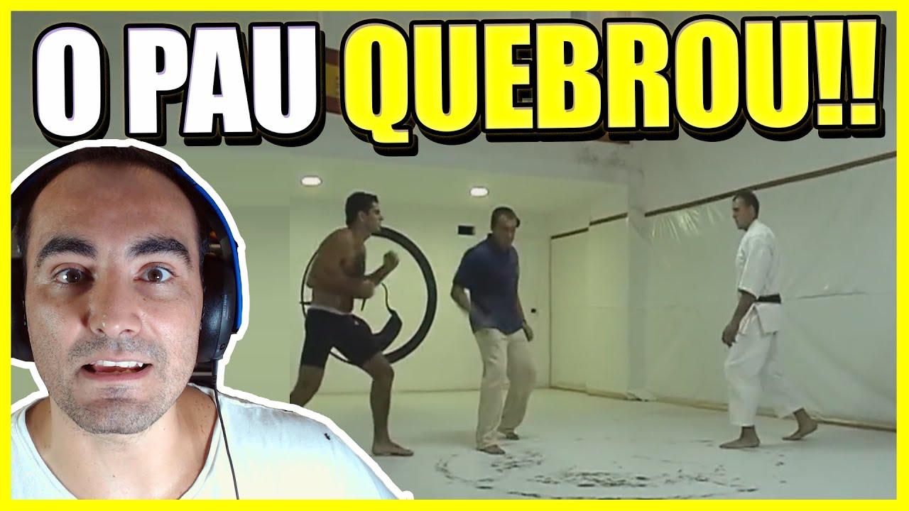 FAIXA PRETA DE JIU JITSU VS FAIXA PRETA DE KARATE
