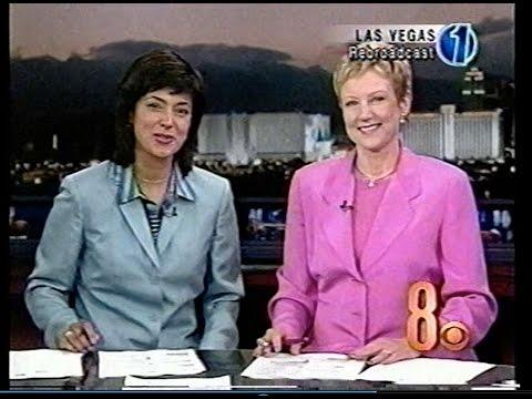 Polly Gonzalez & Paula Francis, Sept. 13, 2002, KLAS Eyewitness News