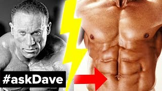 BURNING LOWER BELLY FAT! #askDave