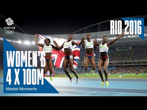 Rio Medal Moments: Women's 4x100m - Bronze   Athletics