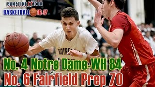 Boys Basketball: No. 4 Notre Dame-WH 84, No. 6 Fairfield Prep 70
