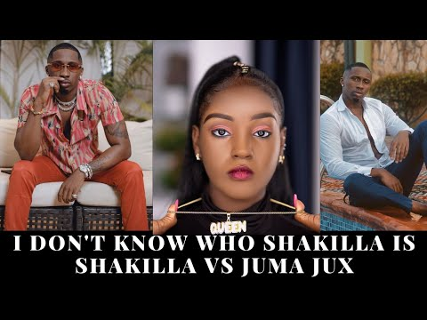 Shakilla Claps Back At Tanzanian Artist Jux Who Claimed He Does Not Know Who She Is At All.