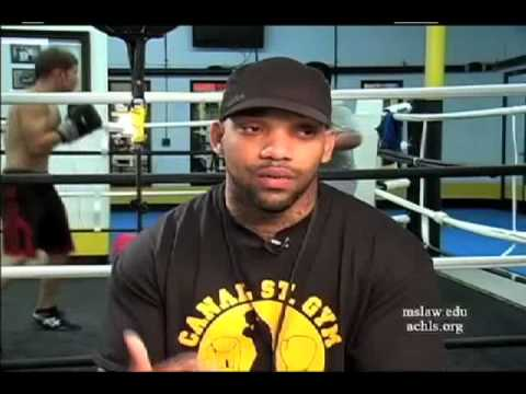 Boxing: Youth Worker, Boxer, & MMA Fighter; Wilfredo Santiago