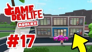 Game Dev Life #17 - SECOND FLOOR COMPLETE (Roblox Game Dev Life)