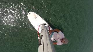 How to Heli Tack - basic windsurf moves