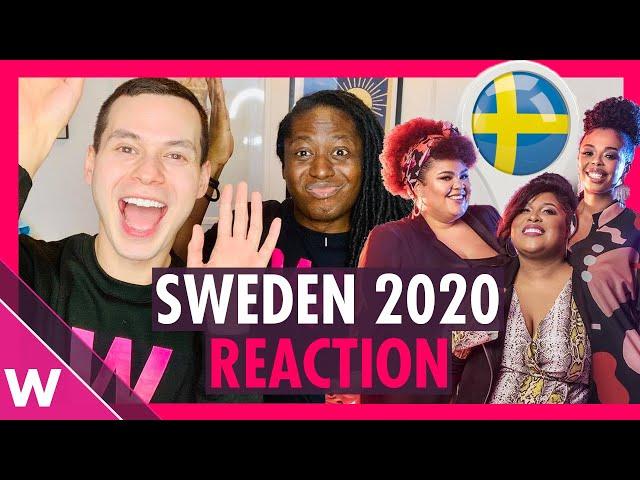 Sweden Eurovision 2020 Reaction: The Mamas -