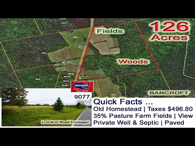 Farms Land For Sale In Maine Video   Maine Real Estate MOOERS REALTY 9077