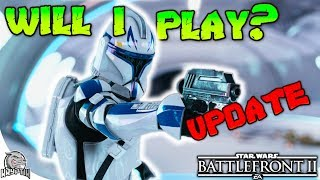 WILL I PLAY THE NEW UPDATE? - Star Wars Battlefront 2