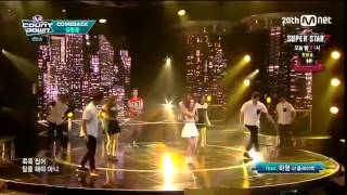 [150820] kim hyung jun & hayoung- cross the line live 20/8/15