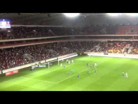 Rémy Vercoutre fou de rage après le penalty de Toivonen