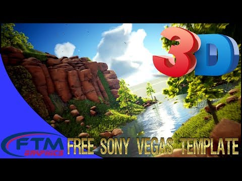 3D Intro Template Sony Vegas - Beautiful Nature Logo Reveal