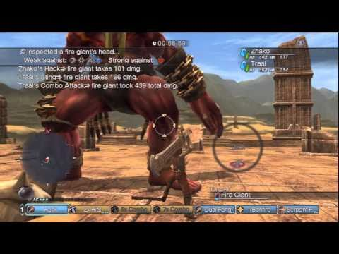 White Knight Chronicles [HD] - Online Gameplay - Farming GR Points