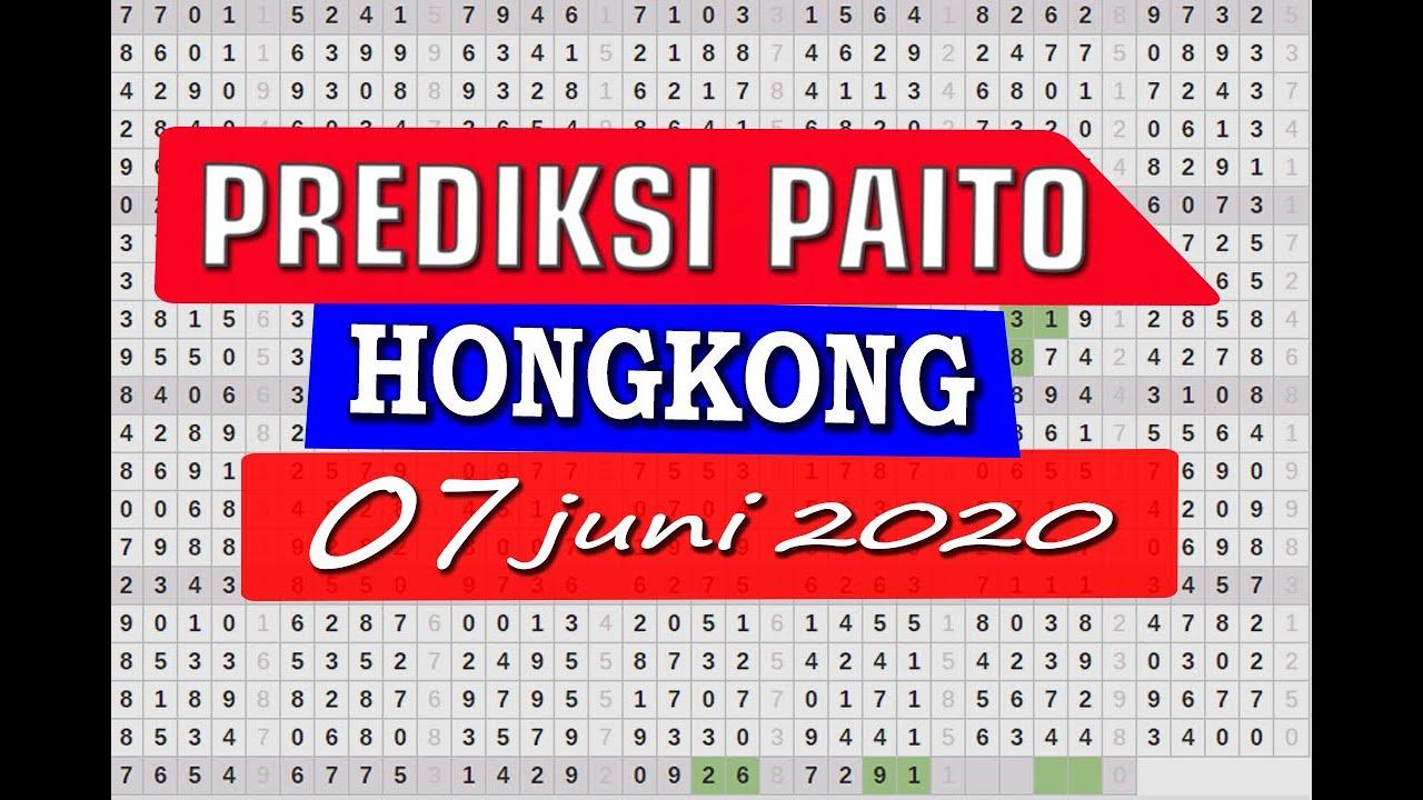 PREDIKSI PAITO AKURAT HK | TOGEL INI HARI 07 JUNI 2020