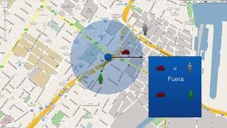 Geocerca Circular, Demostración con HTML, JS Y Google Maps Mp3