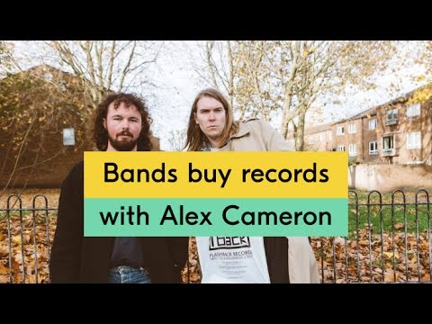 Alex Cameron - Bands Buy Records Episode 06