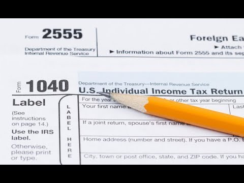 Expat Tax Preparation for U.S. Taxes Form 1040