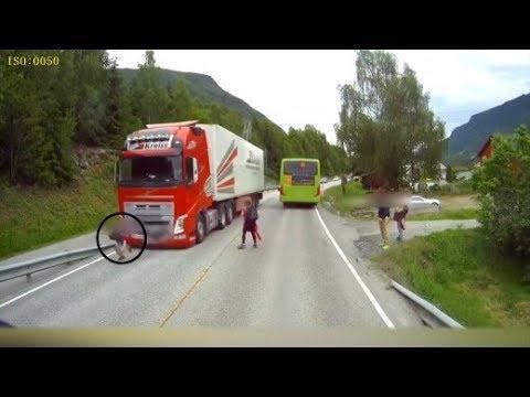 Norwegen: LKW-Fahrer rettet Schüler das Leben