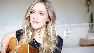 Babe - Sugarland ft. Taylor Swift Cover | Carley Hutchinson Video
