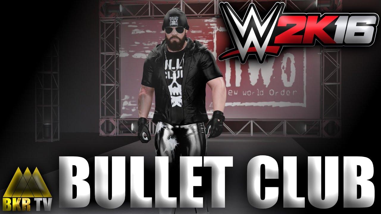 Matt Baker Bullet Club Attire