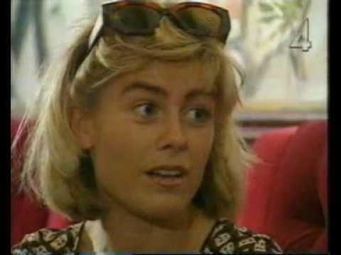 Pernilla Wahlgren - Reportage från 'Junior-4:an' 1995