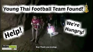 ⚽Young Thai Football Team Found w/ Translations | TIMyT 45