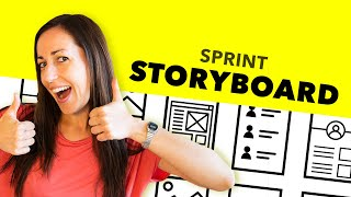 Design Sprint Tutorial - H๐w To Draw The Storyboard (2019)