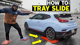 homepage tile video photo for Tray Slides With Front Wheel Drive: Step by Step! FWD Hoon School, pt.2