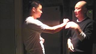 打生樁 - 少川靖男 Wing Chun Kung Fu, 詠春功夫, first form application