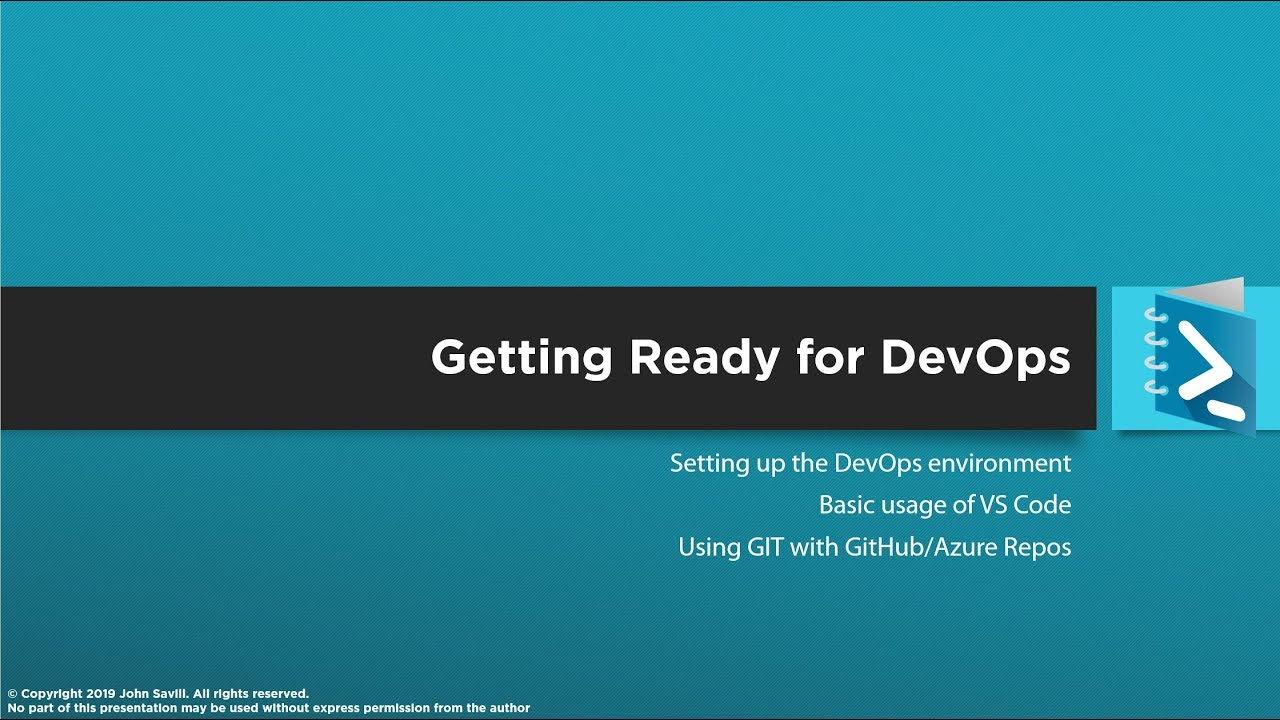 Getting Ready for DevOps with PowerShell and VS Code