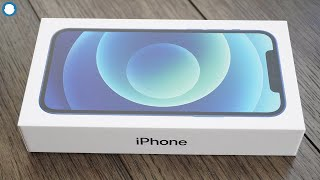 Iphone 12 Blue 64gb Unboxing - First Impressions & Setup!
