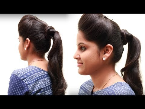 Different Pony Hairstyles For Girls