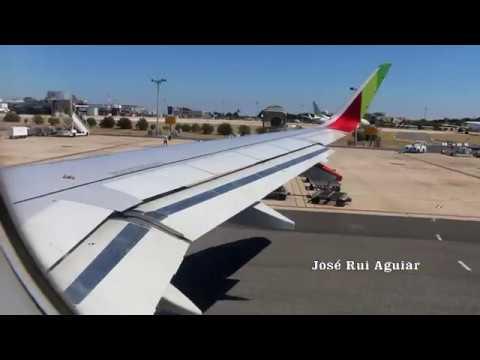 Voo Completo TAP Portugal A320 Lisboa to Madeira gritos antes do pouso