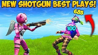 *NEW* SHOTGUN IS BROKEN! - Fortnite Funny Fails and WTF Moments! #282 (Daily Moments)