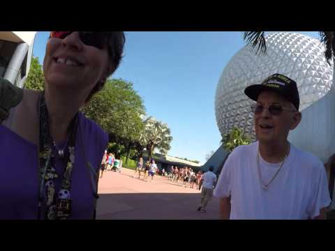 Disney Port Orleans French Quarter and EPCOT 4/2016